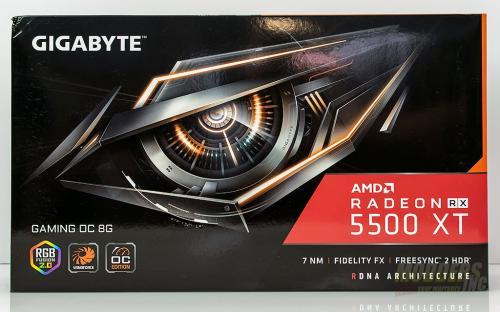 RX 5500 XT Box Front