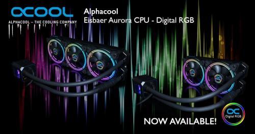 Alphacool Eisbaer Aurora now available! 1