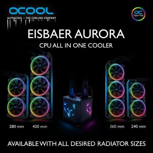 Alphacool Eisbaer Aurora now available! 2