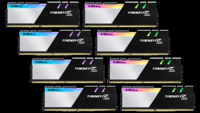 G.SKILL Announces High-Performance, High-Capacity DDR4-3600 C16 256GB (32GBx8) Memory Kit 38