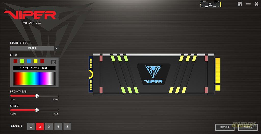 Patriot Viper VPR100 NVMe SSD RGB 1TB Review 13