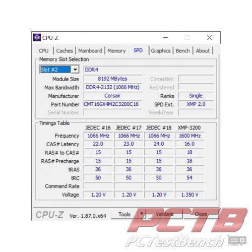 Corsair Dominator Platinum RGB DDR4 Memory Review 36