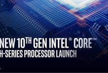 Photo of Intel Announces 10th Generations of H-Series Mobile Processors