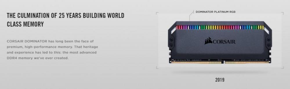 Corsair Dominator Platinum RGB DDR4 Memory Review 1