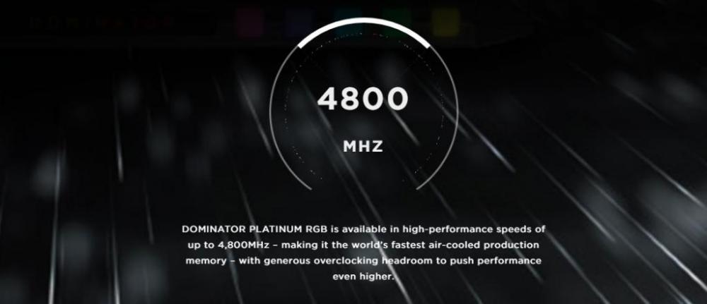 Corsair Dominator Platinum RGB DDR4 Memory Review 2