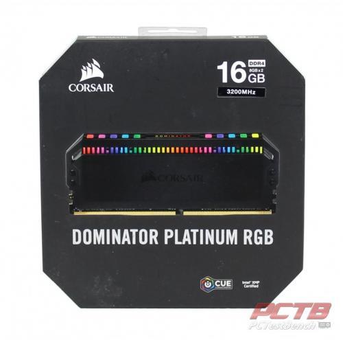 Corsair Dominator Platinum RGB DDR4 Memory Review 10