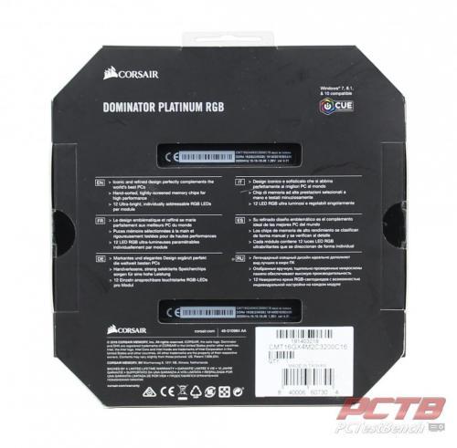 Corsair Dominator Platinum RGB DDR4 Memory Review 11