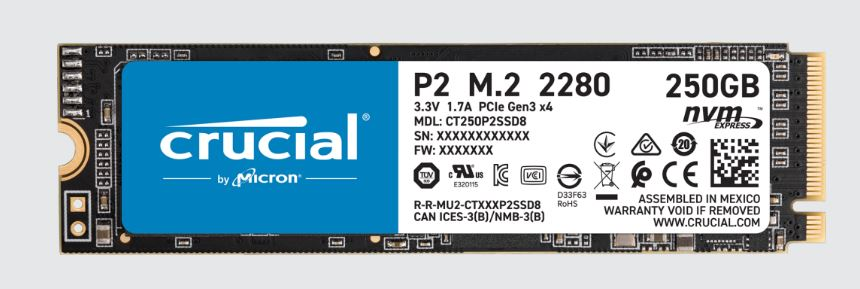 Crucial P2 SSD 2