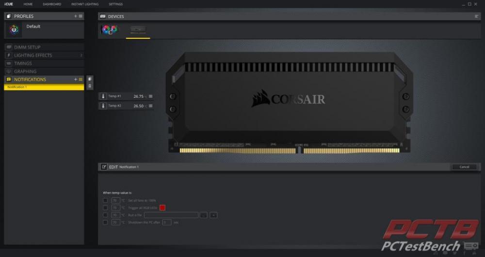 Corsair Dominator Platinum RGB DDR4 Memory Review 27