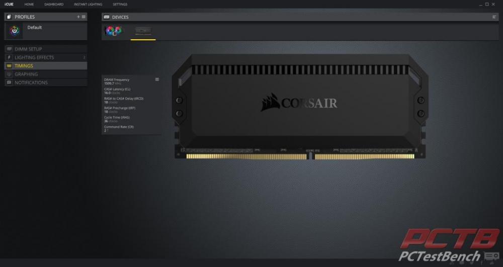 Corsair Dominator Platinum RGB DDR4 Memory Review 25