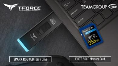 Photo of TEAMGROUP Launches T-FORCE SPARK RGB USB Flash Drive and ELITE SDXC 4K HD Memory Card