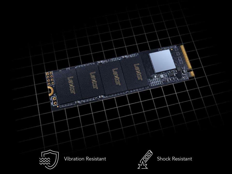 Lexar NM610 M.2 2280 NVMe 500GB SSD Review 1