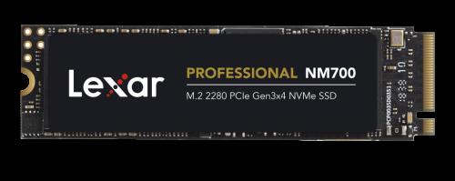 Lexar Announces New Professional NM700 M.2 2280 PCIe Gen3x4 NVMe SSD 2