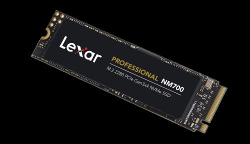Lexar Announces New Professional NM700 M.2 2280 PCIe Gen3x4 NVMe SSD 5