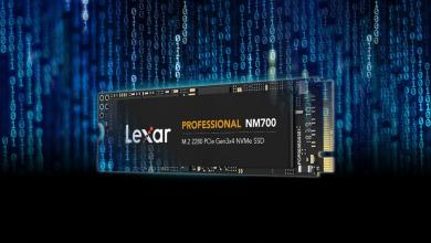 Photo of Lexar Announces New Professional NM700 M.2 2280 PCIe Gen3x4 NVMe SSD