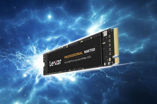 Lexar Announces New Professional NM700 M.2 2280 PCIe Gen3x4 NVMe SSD 1