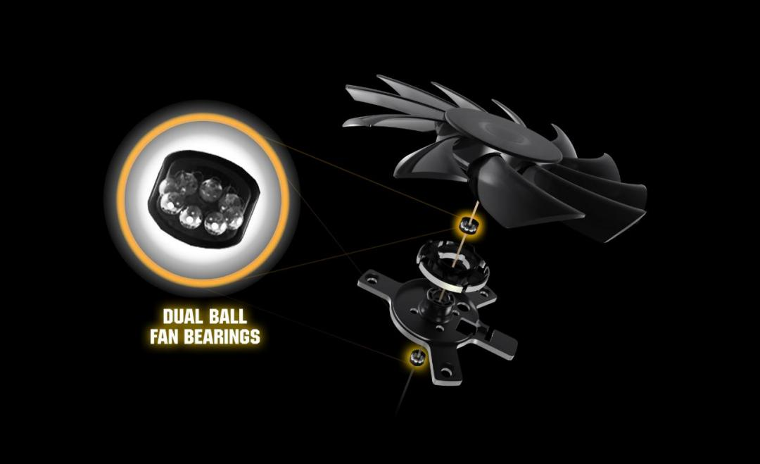 5600xt dual ball bearing