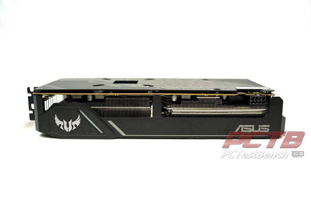 ASUS TUF 5600xt top side view