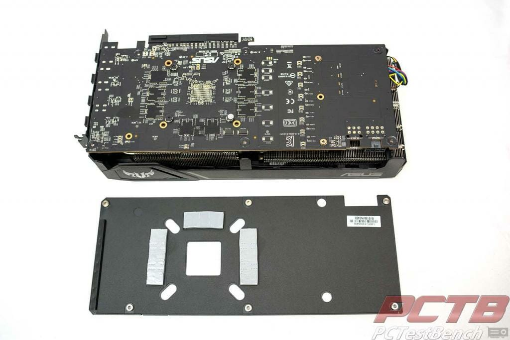 TUF 5600xt backplate removed