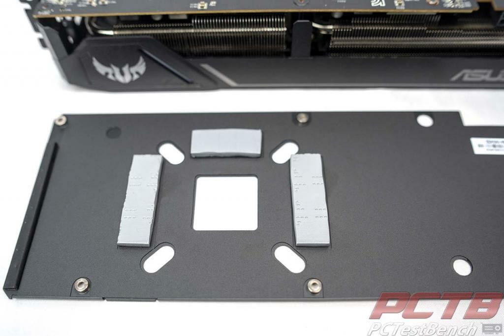 TUF 5600xt back of backplate