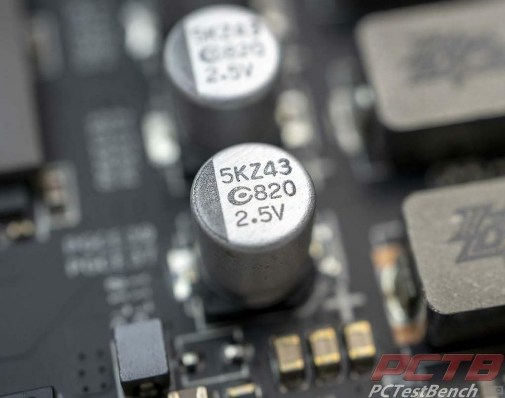 capacitors on tuf 5600xt