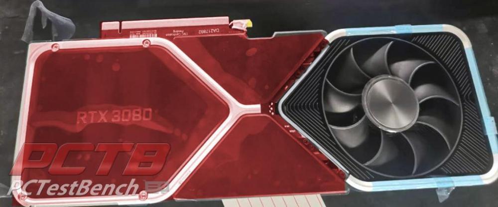 Nvidia RTX 3080 PCB
