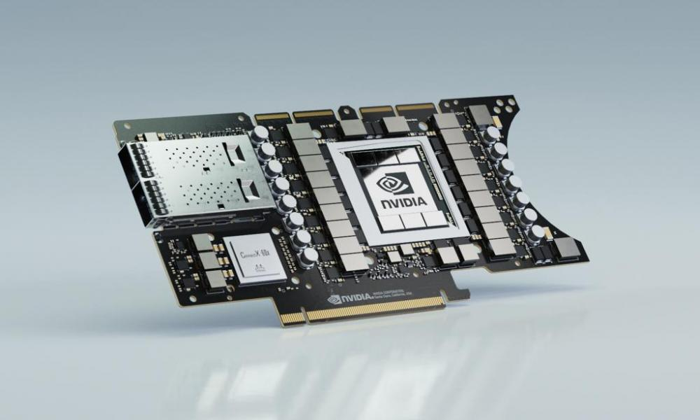 Nvidia Ampere Tesla Compute card