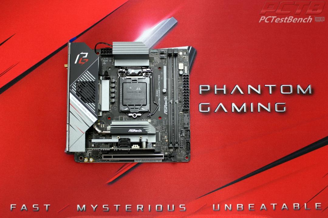 ASRock Z490 Phantom Gaming-ITX/TB3 Review 1