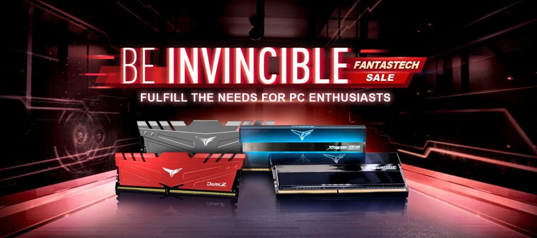 TEAMGROUP - BE INVINCIBLE - FULFILL THE NEEDS FOR PC ENTHUSIASTS GIVEAWAY 1