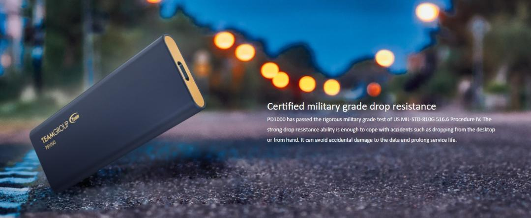 TeamGroup PD1000 Rugged Portable SSD Review 4