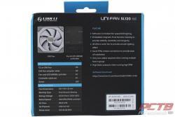 Lian Li UNI FAN SL120 Fan Review 2