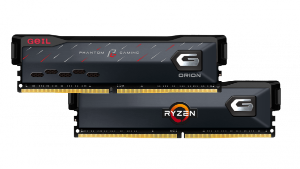 GeIL Announces the Co-branded ORION Phantom Gaming Edition Memory with ASRock 4