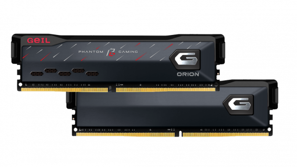 GeIL Announces the Co-branded ORION Phantom Gaming Edition Memory with ASRock 3