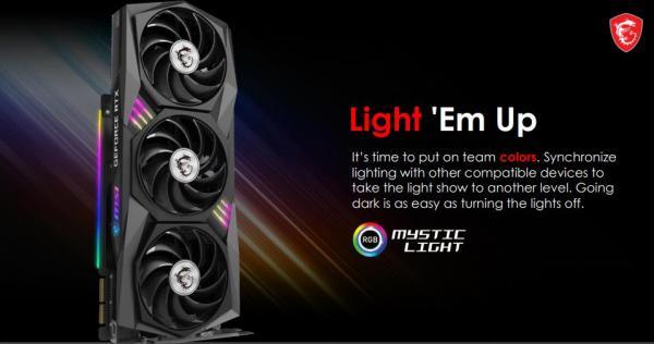 MSI GeForce RTX 3080 GAMING X TRIO 10G 6