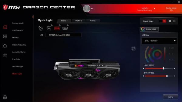 MSI GeForce RTX 3080 GAMING X TRIO 10G 7