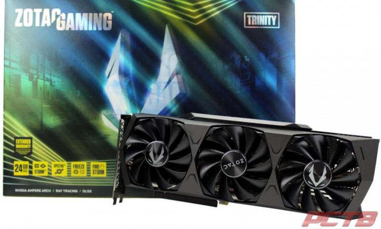 Zotac RTX 3090 Trinity 24GB GPU Review 2