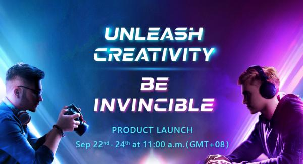 The Global Premiere of TEAMGROUP's 2020 New Product Online Launch Event 2