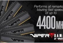 Viper Gaming Viper 4 Blackout Memory adds kits up to 4400MHz 321