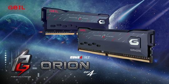 GeIL Announces the Co-branded ORION Phantom Gaming Edition Memory with ASRock 1