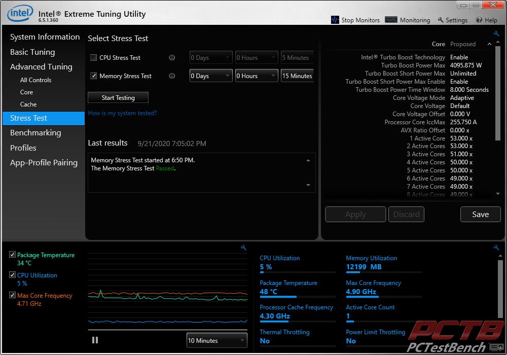 aorus RGB memory stress test