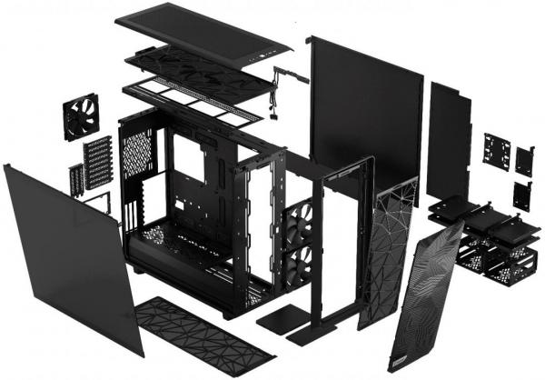 Fractal Design Meshify 2 XL Chassis Review 9