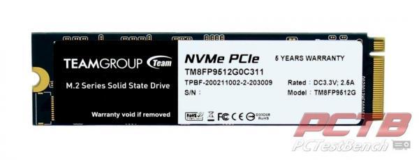 TEAMGROUP CARDEA ZERO Z340 512GB M.2 PCIE GEN3X4 SSD REVIEW 4