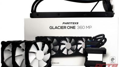Phanteks Glacier One 360 MP Liquid Cooler Review 25