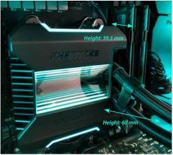 Phanteks Glacier One 360 MP Liquid Cooler Review 9