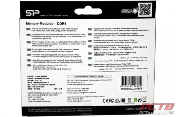 Silicon Power XPOWER Turbine RGB DDR4 Memory Review 2