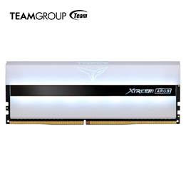 TEAMGROUP XTREEM ARGB WHITE GAMING MEMORY and DELTA MAX WHITE RGB SSD 4