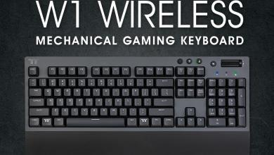 Thermaltake W1 WIRELESS Mechanical Gaming Keyboard