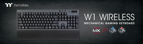 Thermaltake Introduces the W1 WIRELESS Mechanical Gaming Keyboard 2