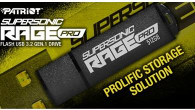 Supersonic Rage PRO USB 3.2 Gen. 1 flash drive