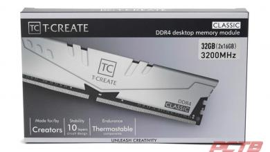 TEAMGROUP T-Create Classic 10L DDR4 Memory Review 2
